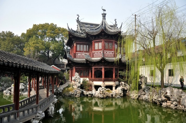 Шанхай. Сад радости