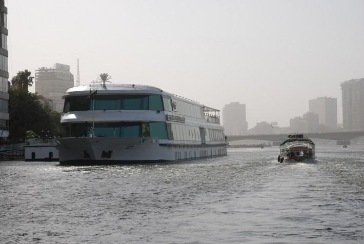 Река Нил в столице Египта Каир
