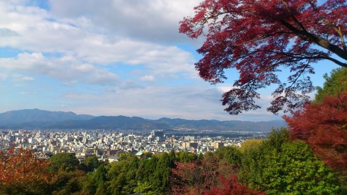 Осень в горах Киото