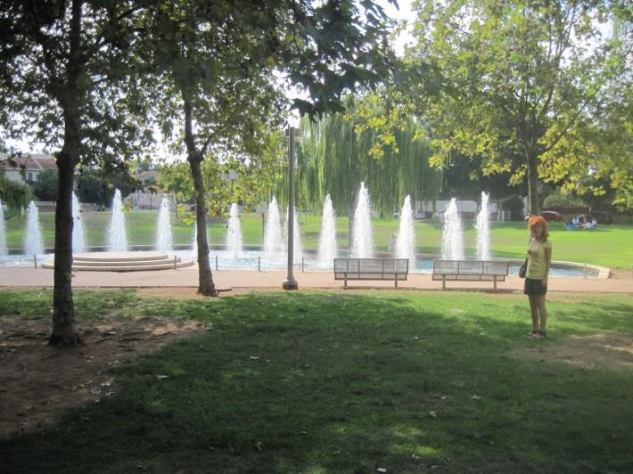 Парк возле Центра Абсорбции – места, где организуются программы для репатриантов