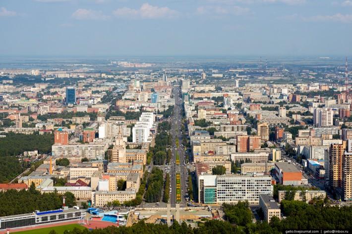Проспект Ленина — главная улица Челябинска