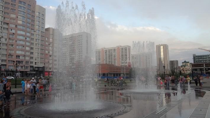 Новокузнецк. Поющий фонтан