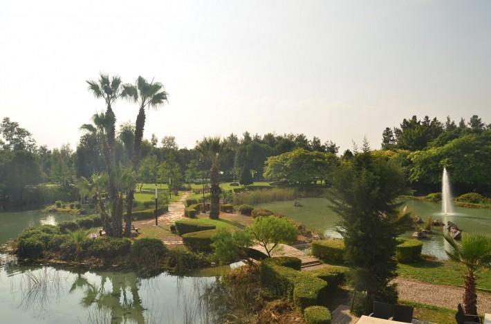 Парк рядом с торговым центром «Мигрос 5 М»