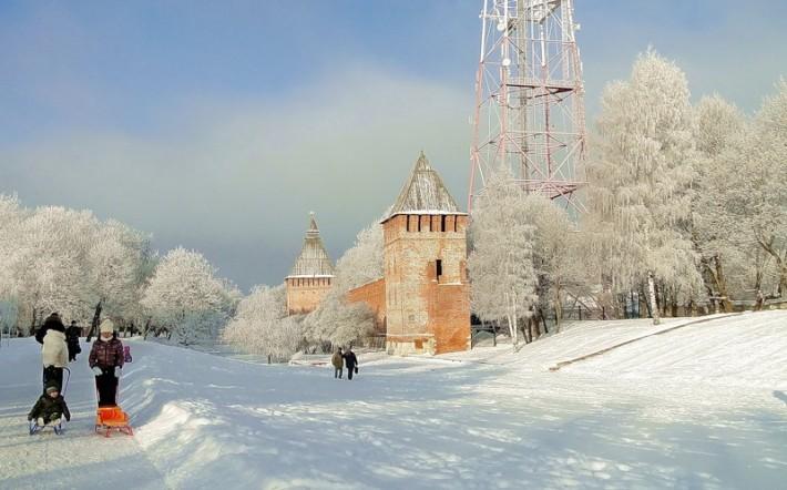 Смоленск – город белых зим!
