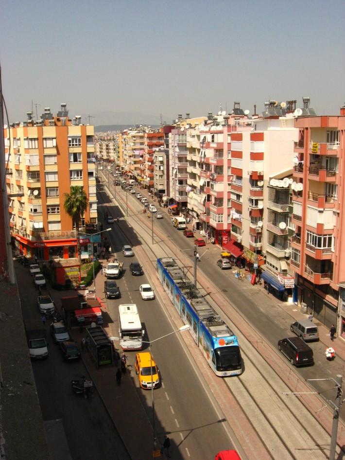 Скоростной трамвай в Анталье