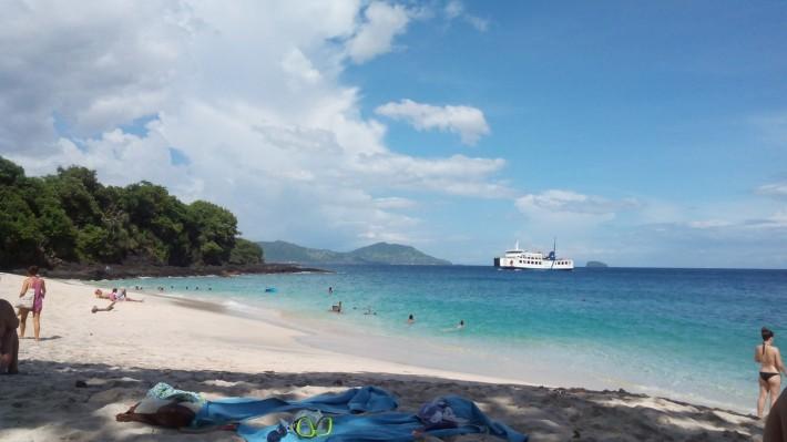 Пляж Паданг Бай (белый песок)