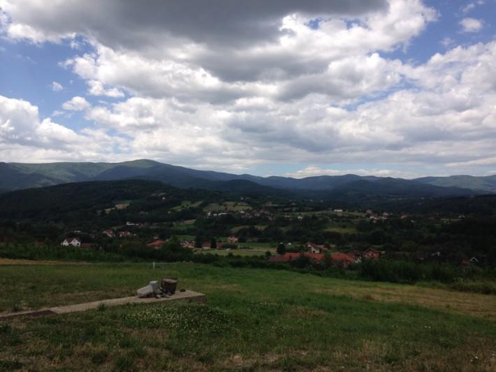 Типичные сербские пейзажи