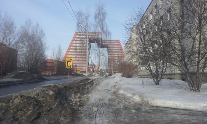 Весна в Новосибирске