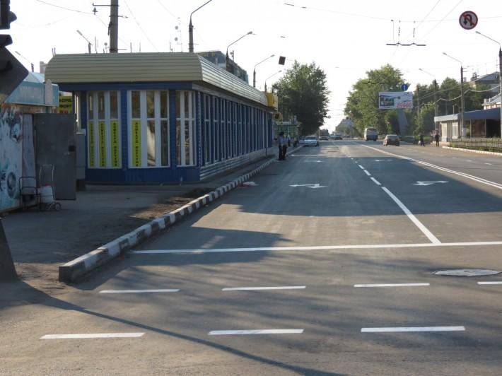 Одна из центральных улиц г.Петропавловска – улица Интернациональная