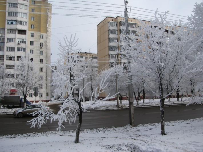Зимний Белгород