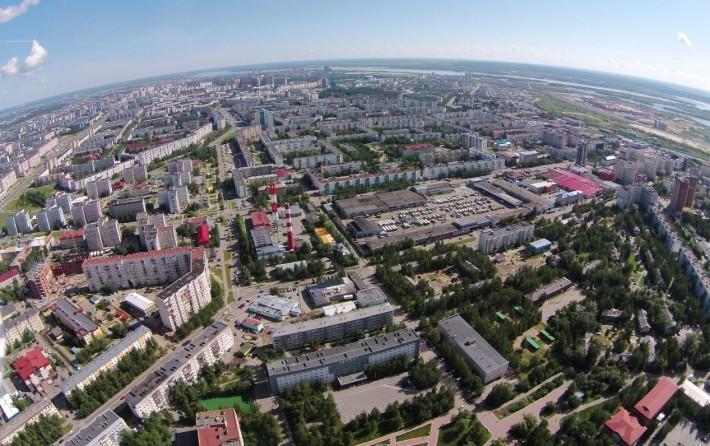 Центральный жилой  район Сургута