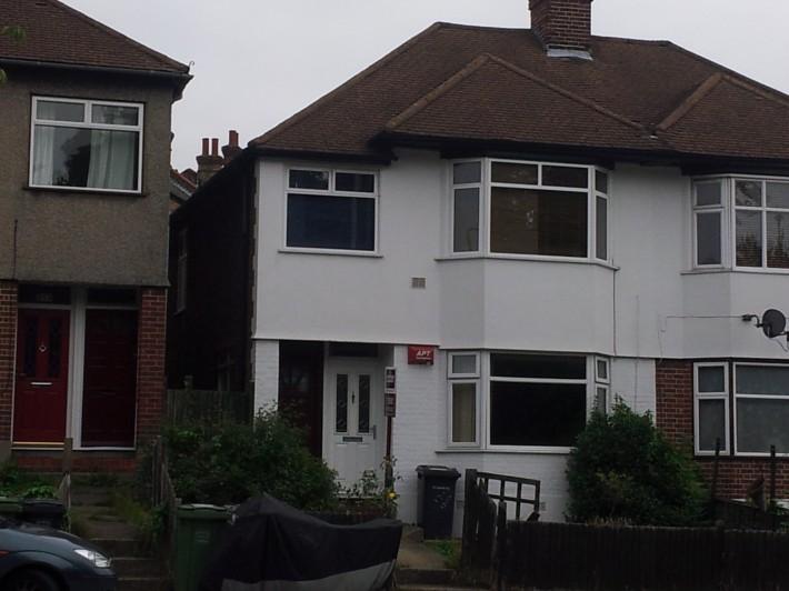 Типичные лондонские домики