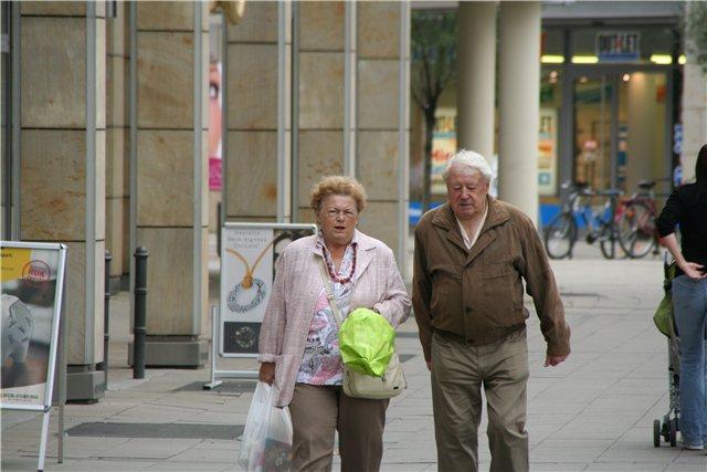 Местные пенсионеры