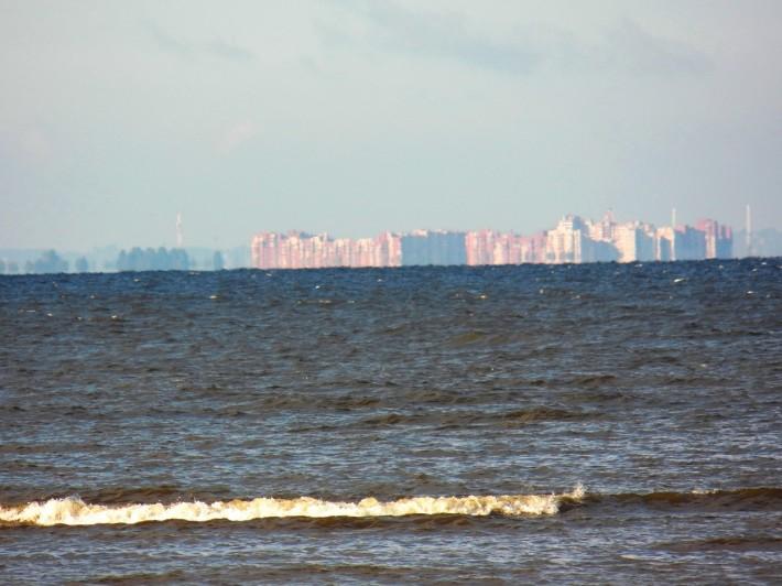 Сестрорецк со стороны Финского залива