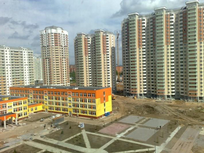 Строительство школы микрорайона «Центр-2»