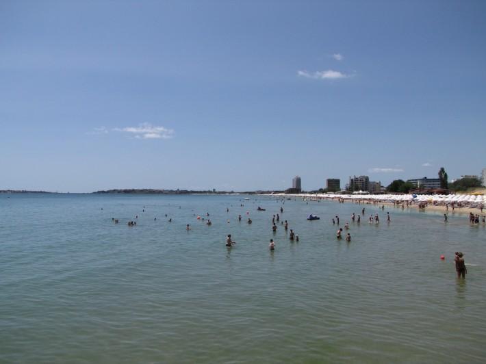 Море в Слнычев Бряге