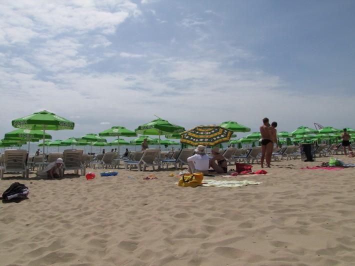 Пляж в Солнечном Береге