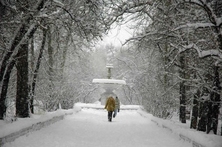 Зима в Ангарске