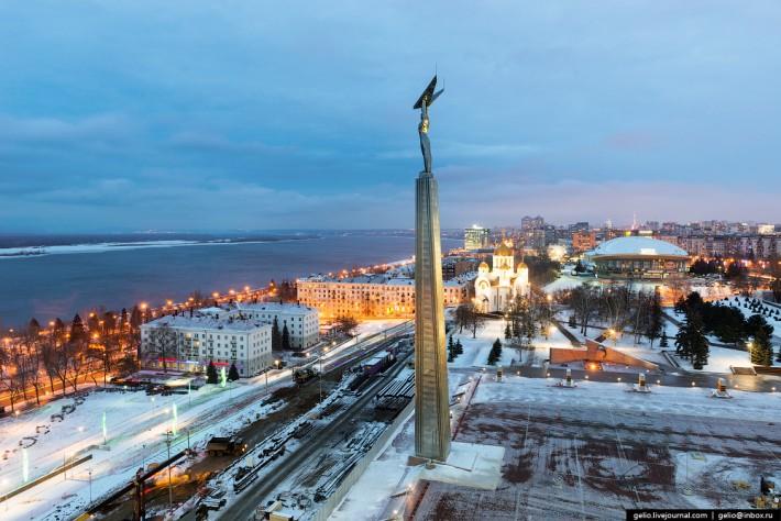 Монумент Славы — один из главных символов города