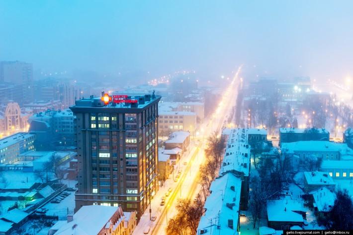 Улица Галактионовская. БЦ «Капитал»