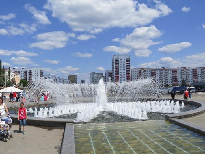 Уфа. Площадь Салавата Юлаева