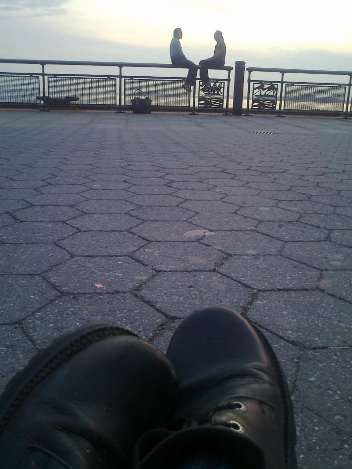 Никогда не путешествуйте вот в таких ботинках