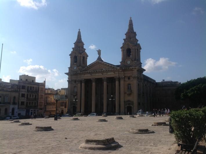Церковь св.Публия, первого епископа Мальты