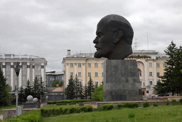 Площадь Советов в Улан-Удэ