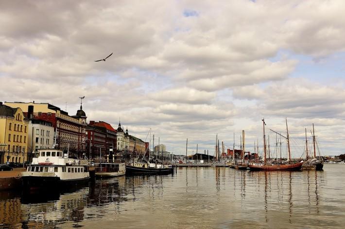 Хельсинки в апреле
