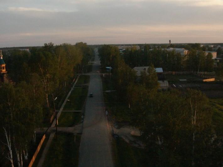 Одна из двух центральных улиц - Свердлова
