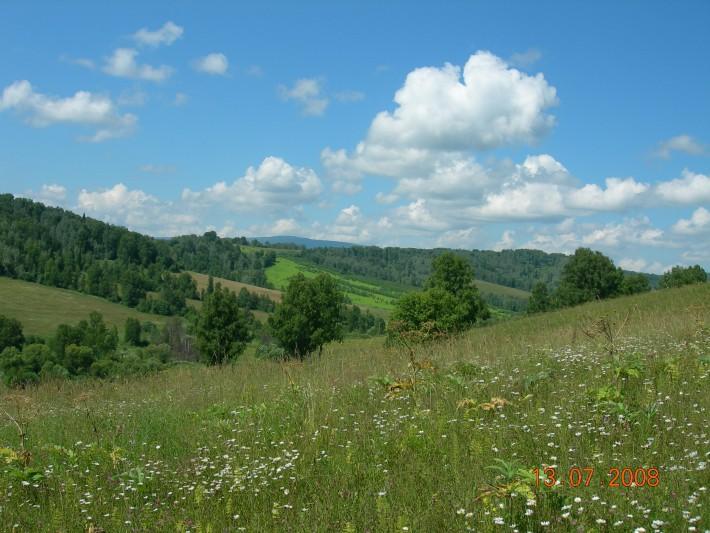 Окрестности Паспаула, Чойский район, 15 км от Чои. Первое лето