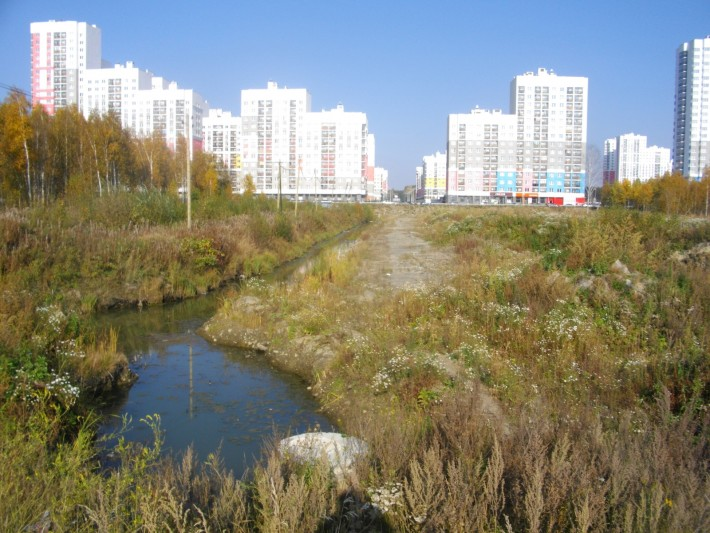 Место для будущего парка Преображенского