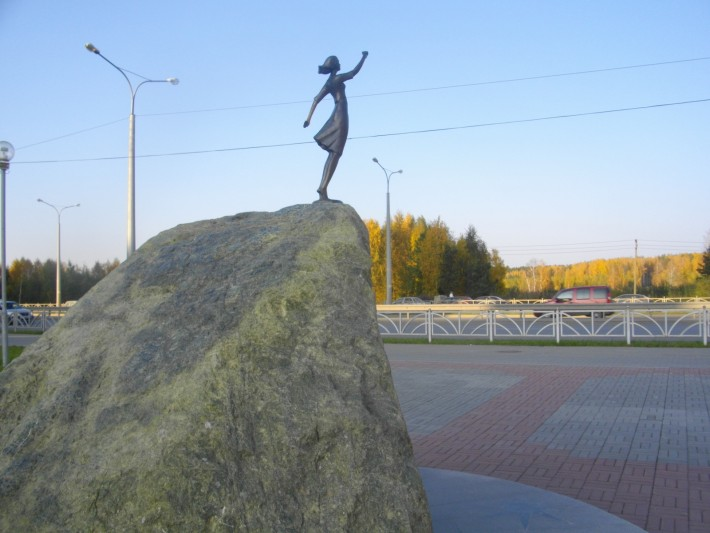 Памятник Вера Надежда Любовь