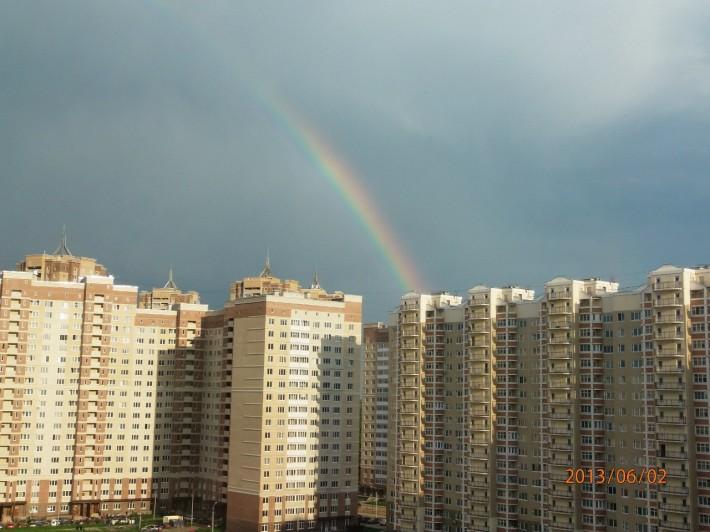 Красивый микрорайон Подольска Кузнечики, уголок отдыха от суеты Москвы