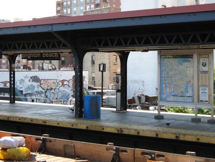 Станция метро Брайтон Бич