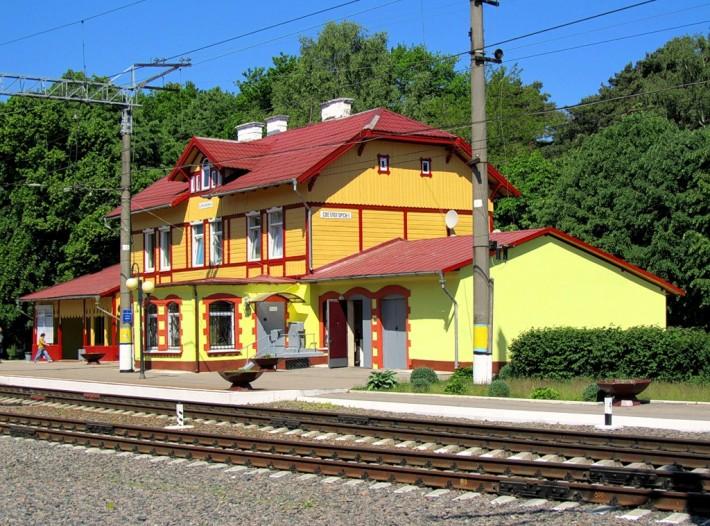 Станция Светлогорск-1 Калининградской области