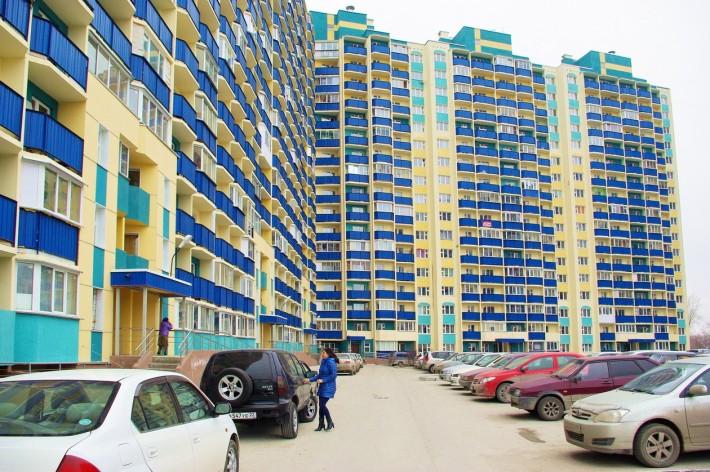 Новый микрорайон в Первомайском районе Новосибирска