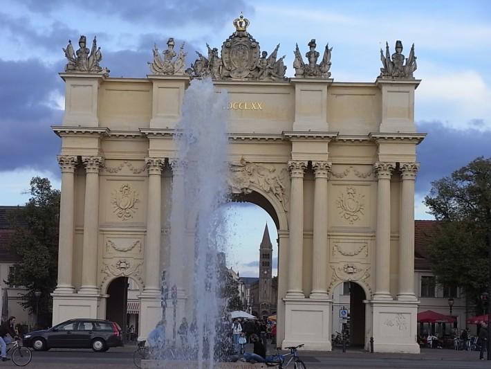 Бранденбургские ворота Потсдама