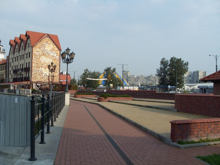 Калининград. Рыбная деревня
