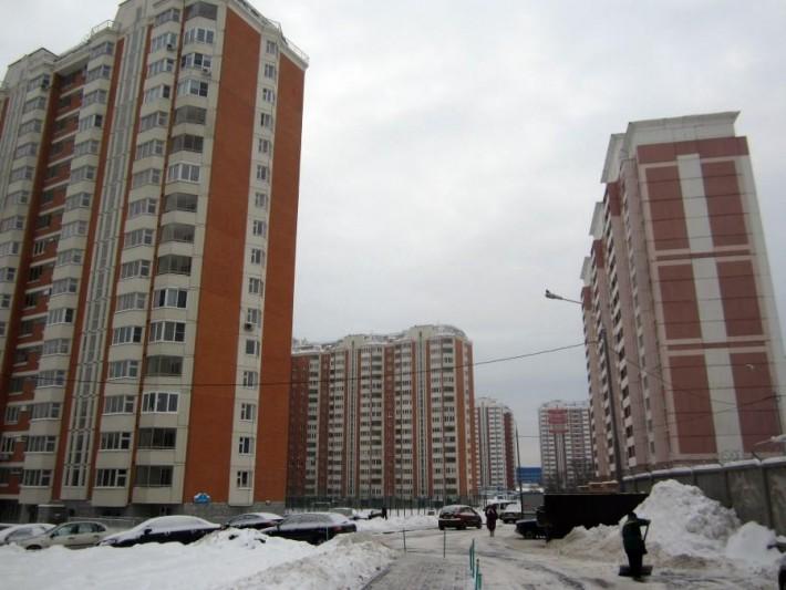 Типичный спальный район Москвы наводит тоску