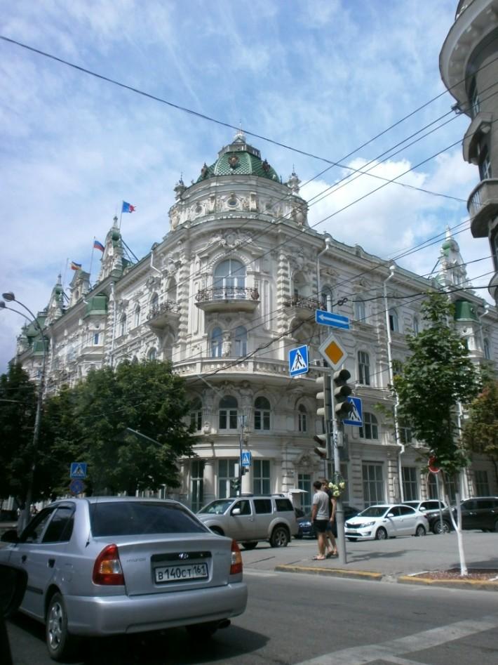 Ростов-на-Дону из окна машины