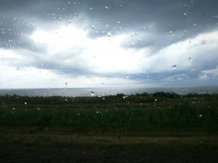 Дождь на Азовском море
