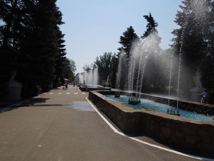 Парк в старой части города