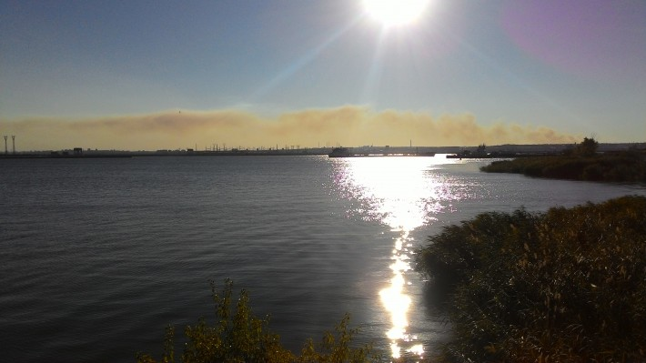 Вид на Волгоград со стороны Волжского