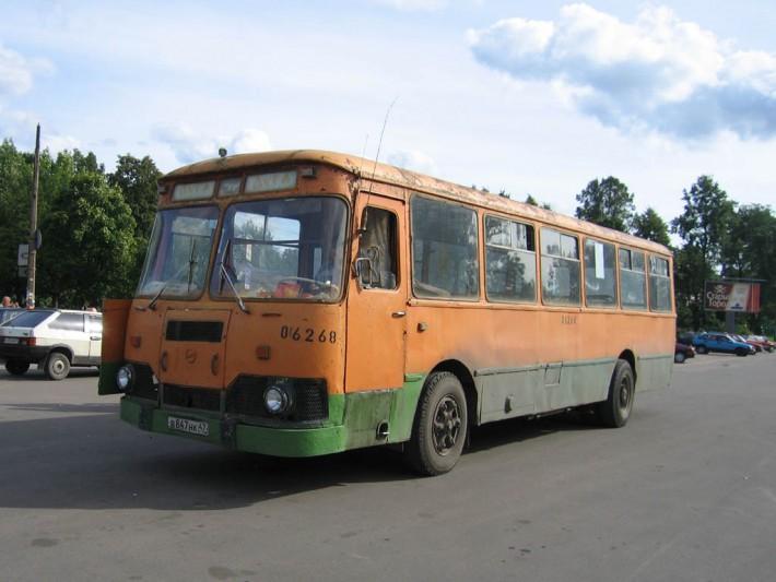 Типичный транспорт Ленинградской области