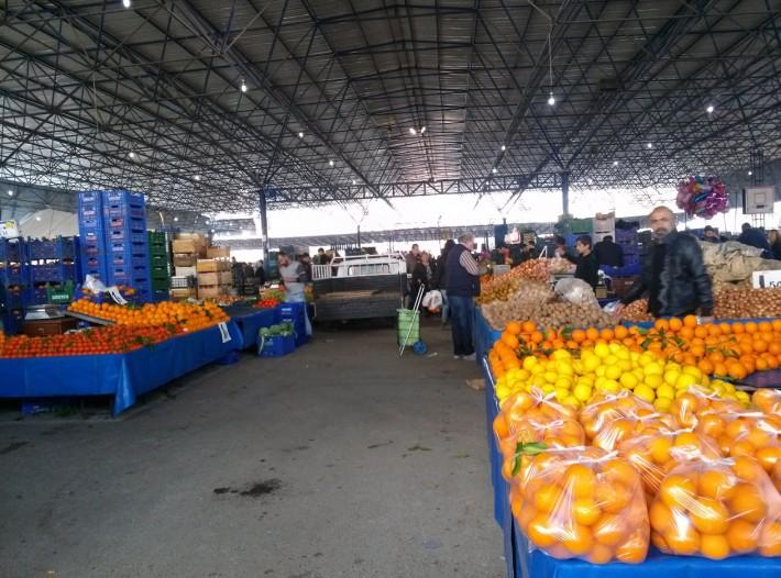 Рынок в Лимане, Анталья
