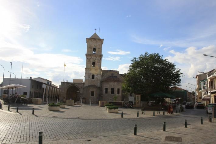 Площадь в Ларнаке