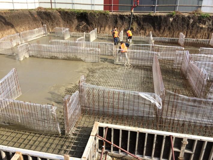Фотографии процесса строительства по состоянию на 21.10.2015