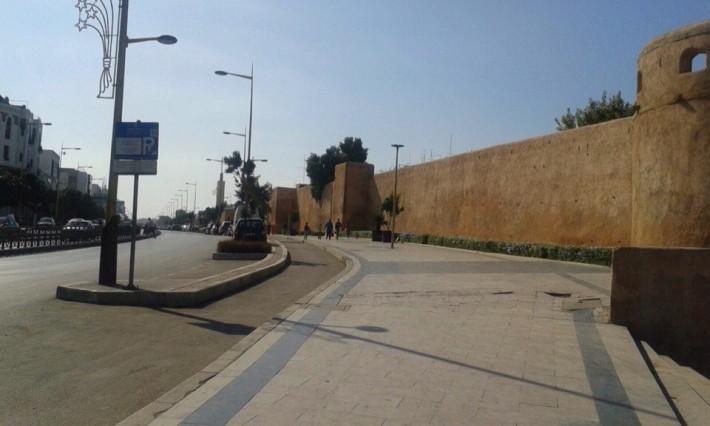 Стена так называемого старого Рабата. Уцелевшие элементы древней архитектуры