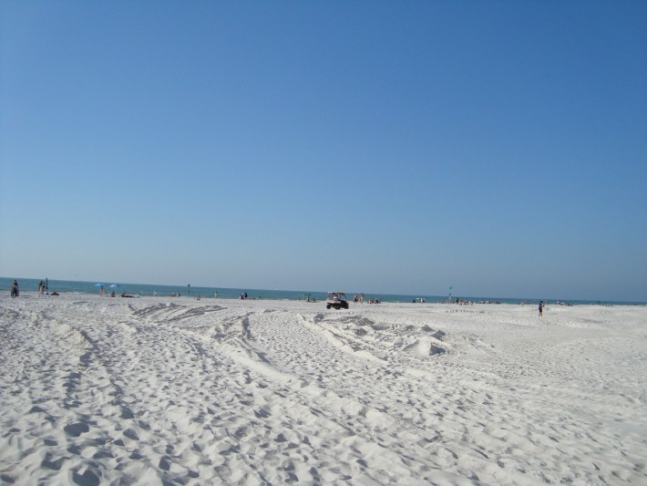 Флоридский пляж